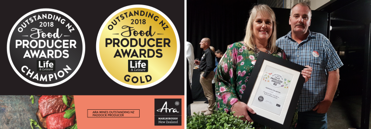 Category Winner for 2018 Food Producer Awards